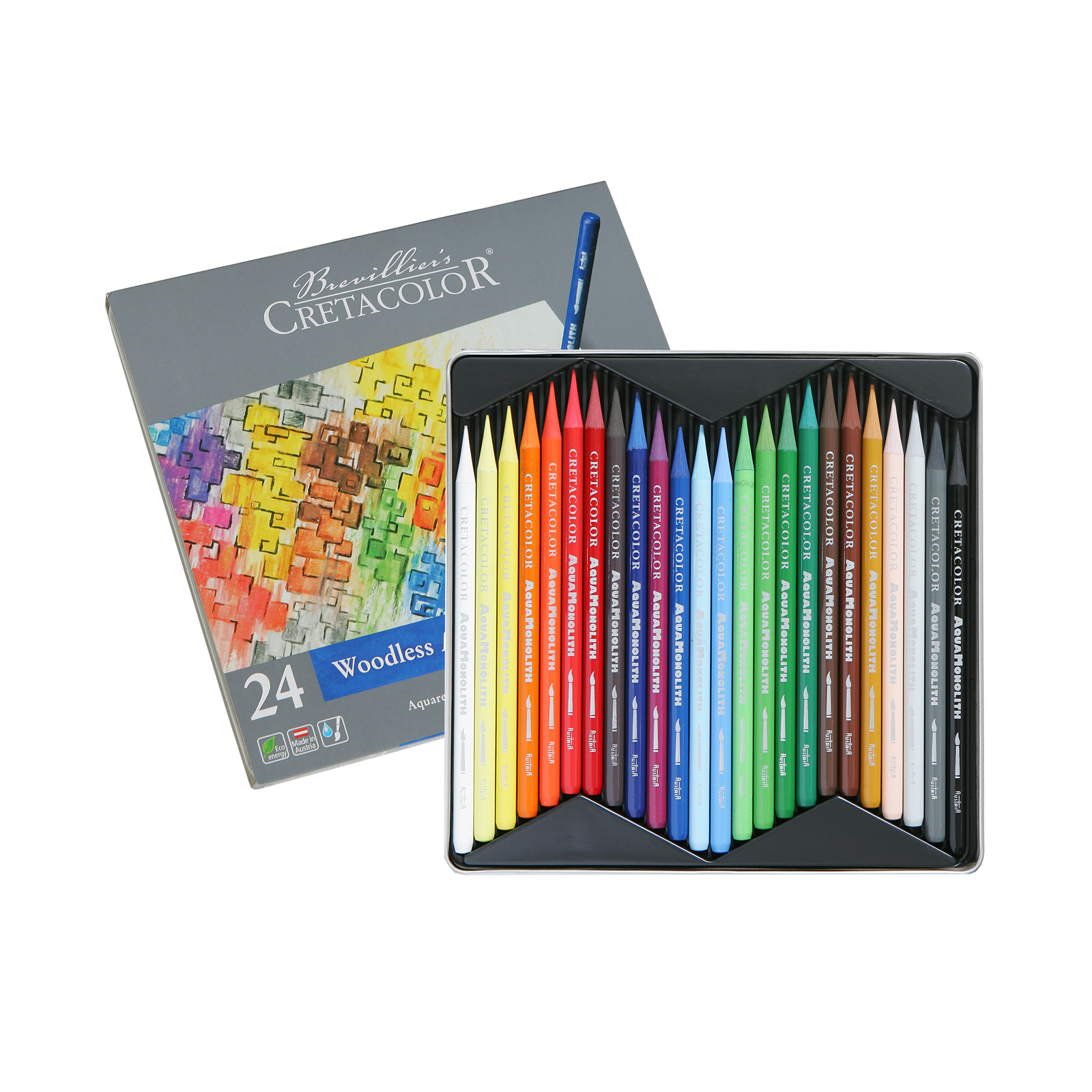 Aqua Monolith Woodless Aquarelle Pencils