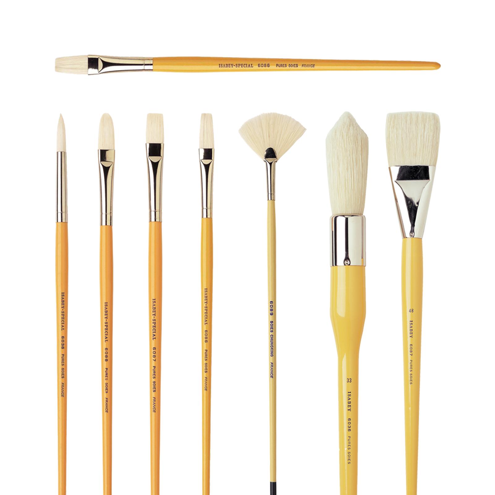 Yellow Handle Bristle 6036-6089