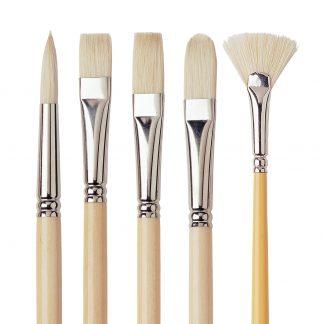 D'Artigny Interlocked White Bristle - large sizes