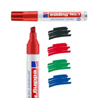 edding 1 Permanent Markers