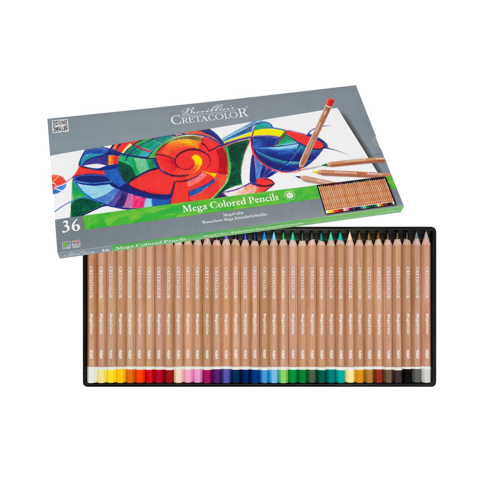 MegaColor Colored Pencil Sets