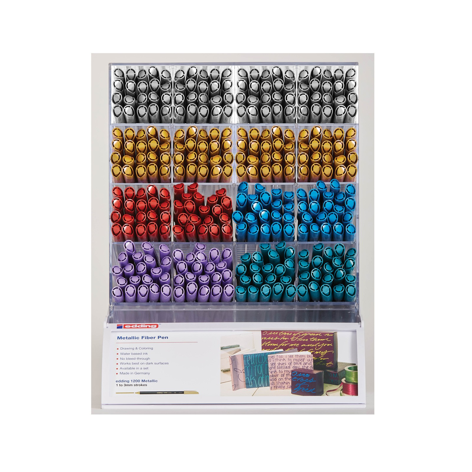 1200 Metallic Fiber Pen display module