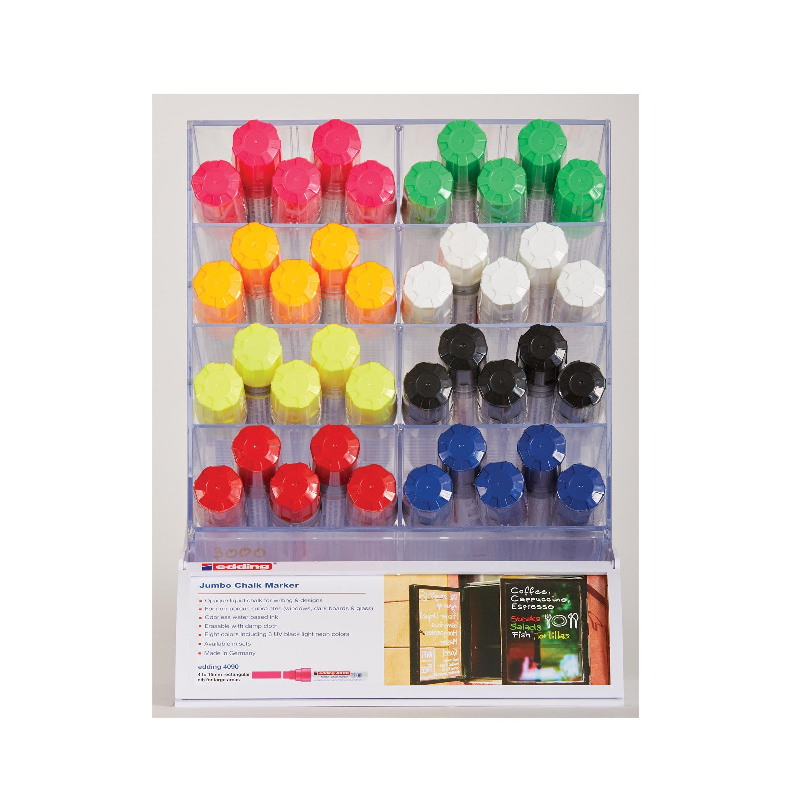 Chalk Markers display module