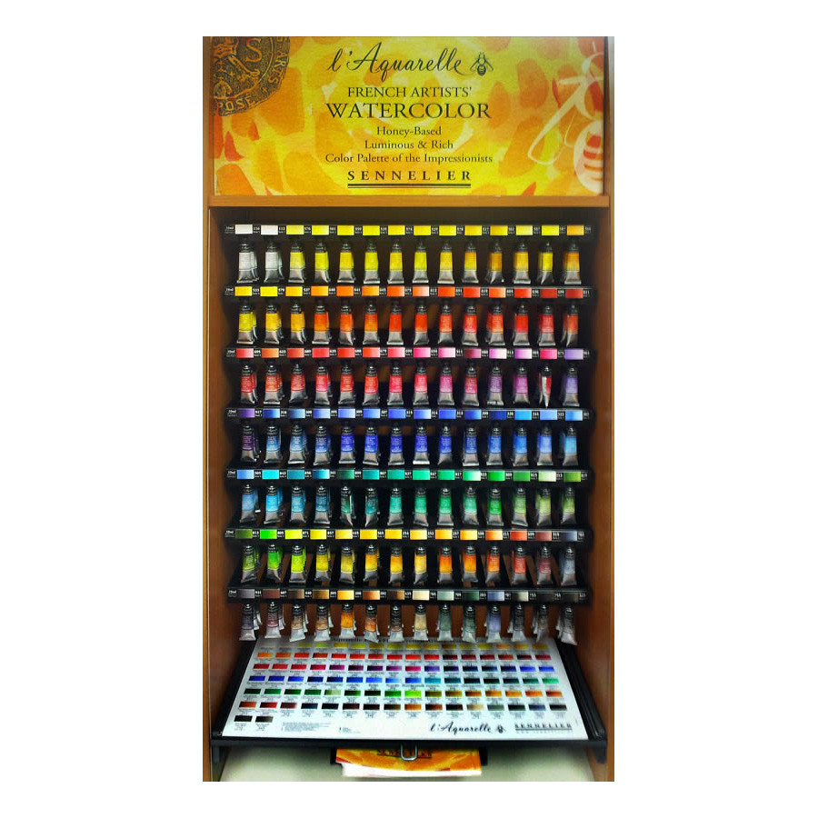 French Artists' Watercolor Assortments